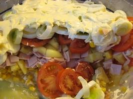 Réteg saláta